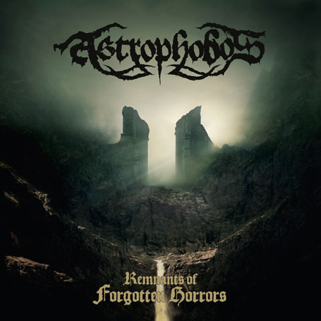 The cover of Astrophobos' album 'Remnants of Forgotten Horrors